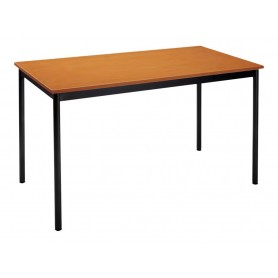 Table modulaire rectangulaire - 120 x 60 cm - anthracite