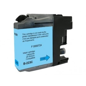 Brother LC223 - compatible UPrint B.223C - cyan - cartouche d'encre