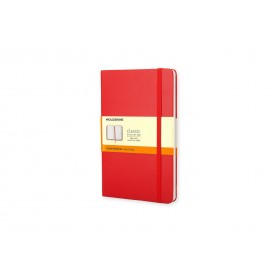 Moleskine Classic POCKET - Carnet - 9 x 14 cm - 192 pages - ligné - rouge